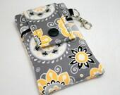 iPhone 7 Plus Wallet Case, Cell Phone Case, iPhone Purse, iPhone 6s Case, Moto G4 Case, Samsung S6 Phone Case, Moto X Case-Melancholy Flower