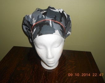 Halloween! FREE Shipping in U.S. Bouffant SURGICAL Scrub Hat..