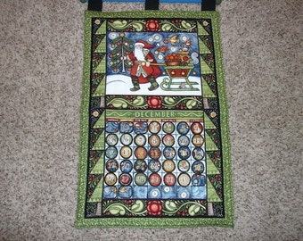Christmas Advent Calendar - Santa's Sleigh Perpetual