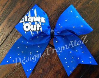 Claws Out Cheer Bow