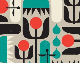 Spring Fling Garden Print