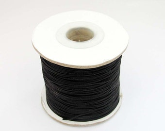 1Pc Roll Black Silk Cord For Handwork Jewelry/Pendant/Necklace/Bracelet/Hanging Etc.  ja536