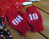 Ohio State Mitts - Fingerless