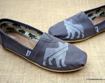 French Bulldog Custom TOMS Shoes