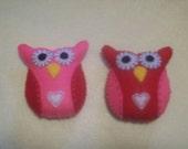 Mini Valentine Owls