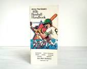 Book, Jimmy the Greek's 1976 Baseball Handbook, MLB, major league sports commentator and bookie, vintage booklet, gambling, betting, 1970s