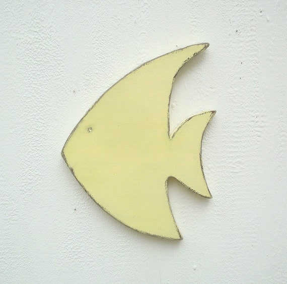 Wall Art Wood Fish : Fish wood wall art