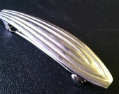 Upcycled Spoon Barrette Oval - Spoon Jewelry - Hair Accessory - Hair Barrette