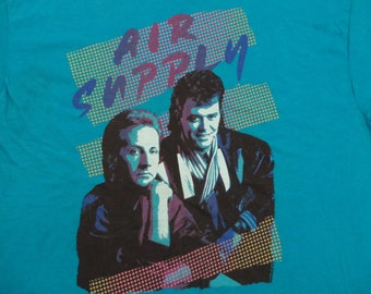AIR SUPPLY 1986 tour T SHIRT