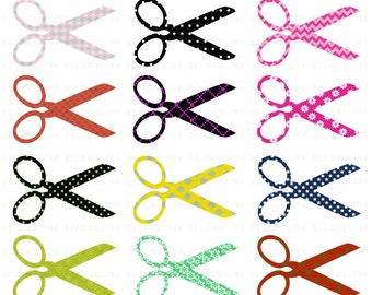 Scissors Digital Clip Art Commercial Use - Instant Download - DP240