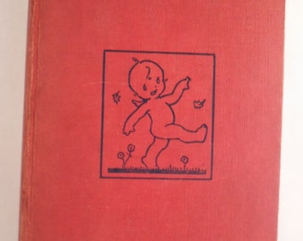 Vintage Complete Cheerful Cherub Red Book by Rebecca McCann