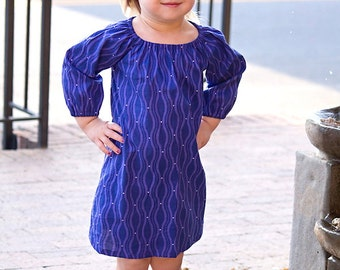 Moon Pearl Girls Peasant Dress Sizes 6 Months-6 Years Available