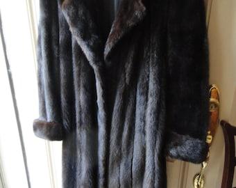 Natural Ranch Mink Coat