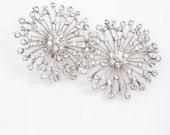 Laura rhinestone crystal bridal shoe clips