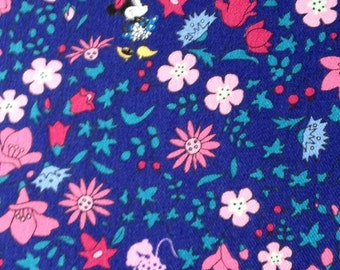 Half yard Disney fabric Minnie mouse printed