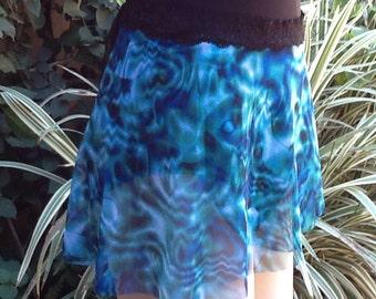 Ballet/Dance Wrap Skirt Water Mark Print