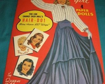 Queen Holden  paper dolls