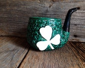Shamrock Planter, Irish Planter
