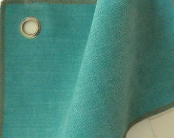 """Velvet Aqua Yardage Brushed woven upholstery yardage 55""""w"""