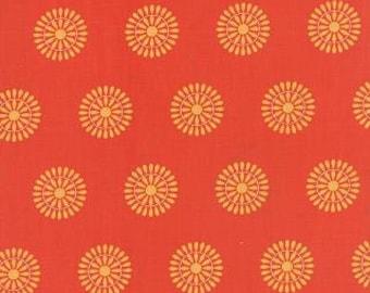 Native Sun Terra Cotta Squash Blossom by Abi Hall for Moda
