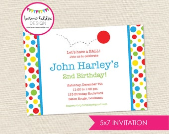 DIY, Ball Party INVITATION ONLY