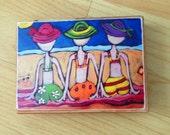 Art Block - Beach Ladies
