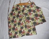 Showers of Flowers Retro Inspired Mommy and Me Apron Set - Ready to Ship