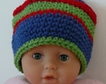 CROCHET PATTERN: Baby Ski Hat Baby Toddler