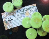 Steady Customers Business Success Natural Blend Soy Tea Lights - 9  for Spellcasting, Magick, Meditation and Ritual