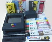 Riso Print Gocco PG-10 Super Set with 4 Bulbs 2 Screen 14 Inks and More Ready to go kit