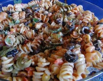 Fiesta Pasta Salad--PDF Recipe
