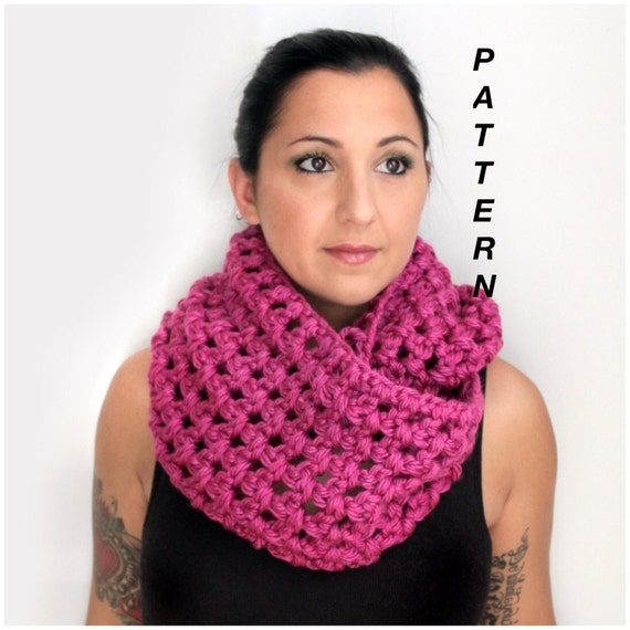 The Chunky Oversized Infinity Scarf Crochet Pattern Pdf Download