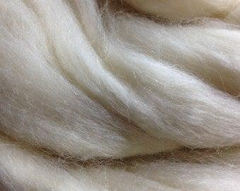 Corriedale Wool Top, 54's , 100% Combed 28/29 Microns, 100 Grams