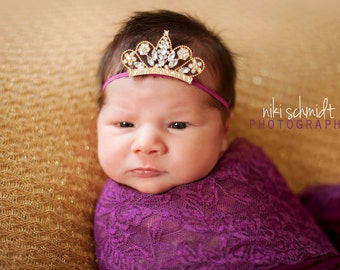 The PRINCESS Is HERE -BOLD Edition - You Can Customize Band Color - Preemie Size on Up