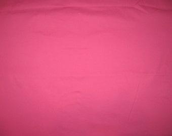 "Pink twill fabric 49"" X 58"""