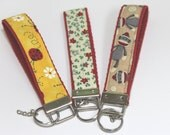 FOB Wristlet key holder Choose a fabric print