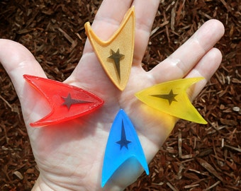 Star Trek Starfleet Insignia Soaps - Set of 4 - Birthday Shower Party Favor