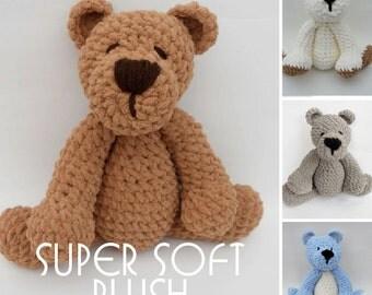 Crochet Teddy Bear SUPER SUPER SOFT