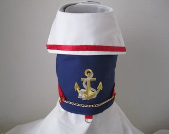 Dog Vest Sailor