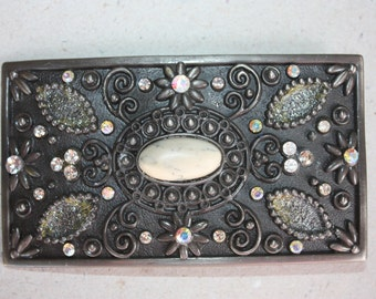 Vintage Metal Belt Buckle Base For Your Sewing Prodjects - for Belt - Bags - Purses - Theatre - Theater