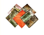 Camo pocket square satin Mossy Oak, Realtree, and True Timber camouflage