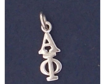 Alpha Phi Sterling Silver Lavalier