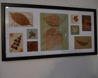 Collage Leaf Art