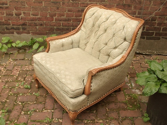 1940's French Provincial arm chair