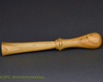 Muddler, handmade, wood, sugar pine, 8 in.