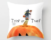 Indoor pillow cover, Trick or Treat Little Witch