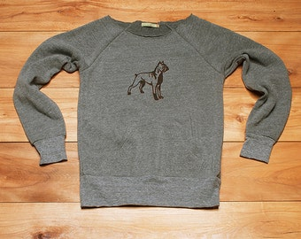 ready...set...go...Boxer Sweatshirt, Dog Sweater, Boxer Shirt, S,M,L,XL,2XL