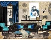 Items similar to Bedroom, E Design, Interior Design ...
