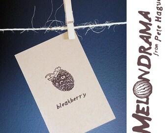 Bleakberry - MELONDRAMA - Blank Card