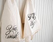 You wash, I'll dry - Tea Towel Set